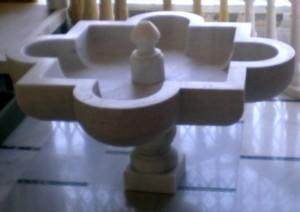 a fuente marmol