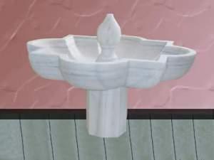 fuente de marmol