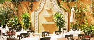 Fuente marmol hotel bahía Real