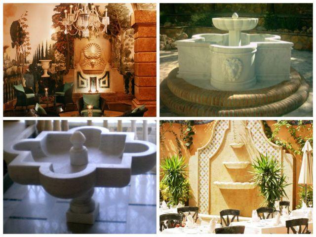 fuentes de mármol