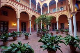 Hotel casa palacio Carmona columnas de marmol 1