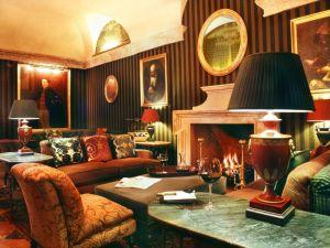 hotel villa padierna palace chimenea marmol