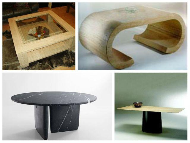 mesas de mármol