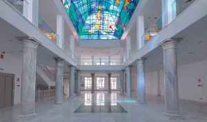 Palacio Neptuno columnas de mármol V