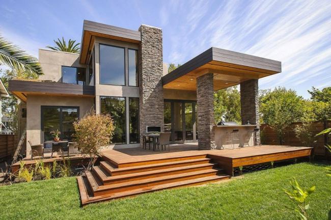 Qu diferencias hay entre piedras naturales y piedras for Casa moderna ladrillo