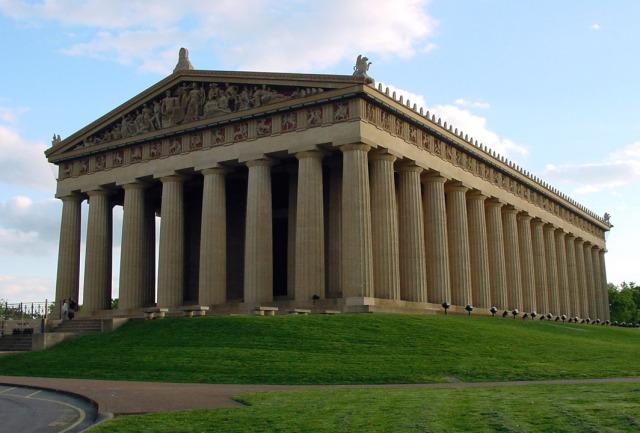 panteón griego mármol