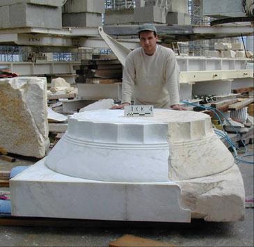 Proceso de restauraci n limpieza y conservaci n del for Limpieza de marmol