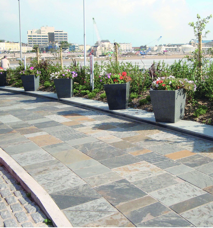 El m rmol decorativo y mobiliario urbano todo sobre - Pavimentos para aceras ...