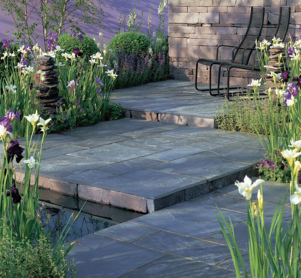 Cu l es la mejor piedra natural para el jard n todo - Suelos de exterior para jardin ...