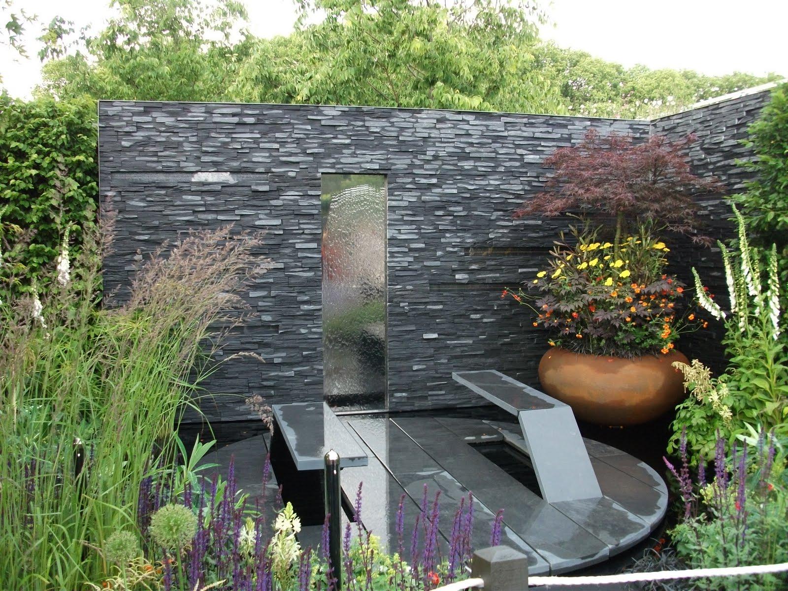 Cu l es la mejor piedra natural para el jard n todo - Pintura de pizarra para pared ...