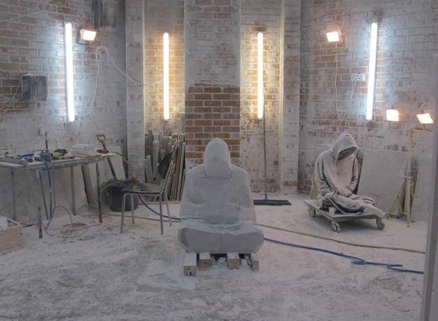 hombre de mármol